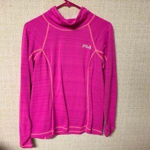 FILA Sport long sleeve running shirt